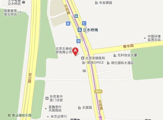 阿克森公司地图